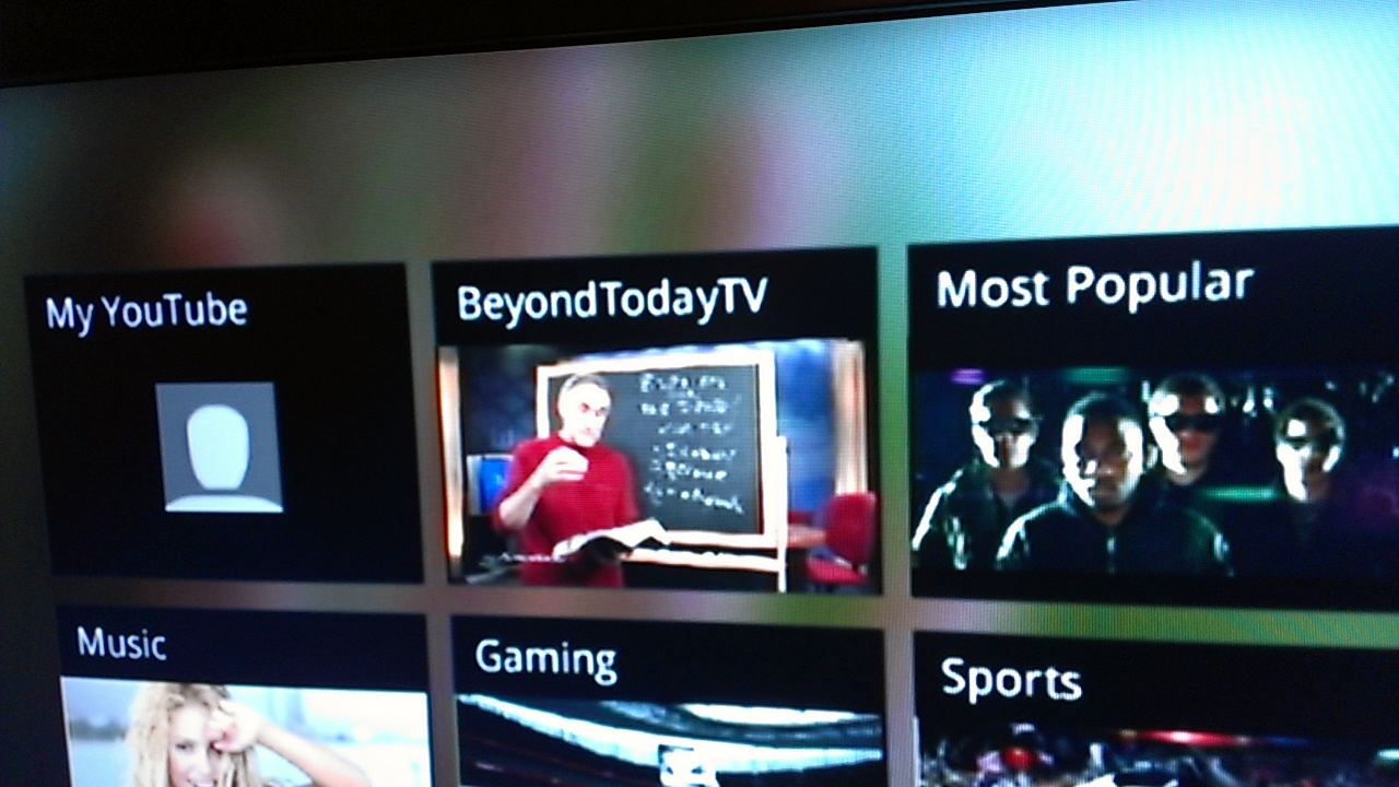 Beyond Today channel on the Wii