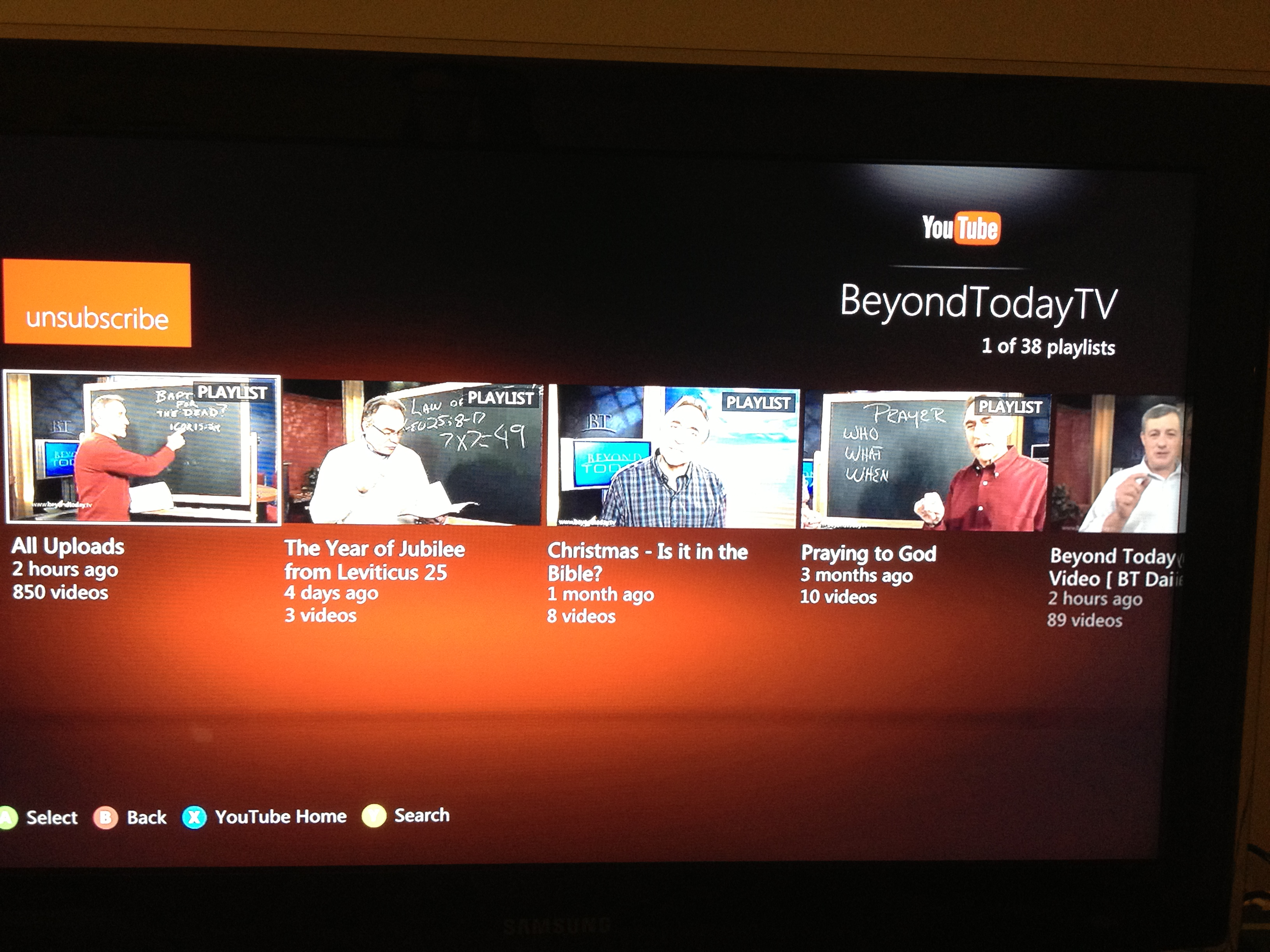 Beyond Today on xBox
