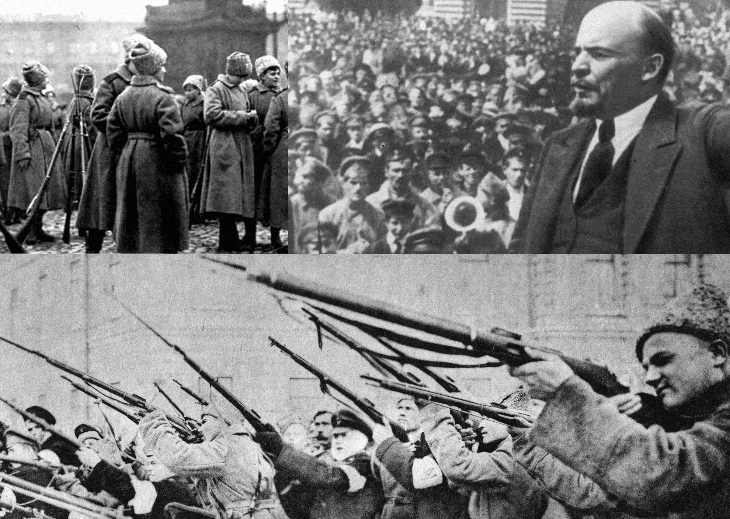 100 years ago. As a friend of mankind headed Russia