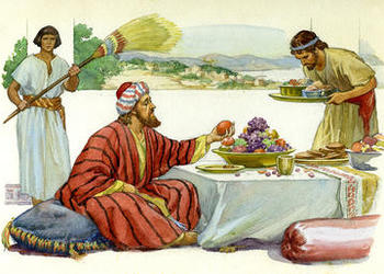 Lessons From the Parables: Lazarus and the Rich Man: Attitudes and ...