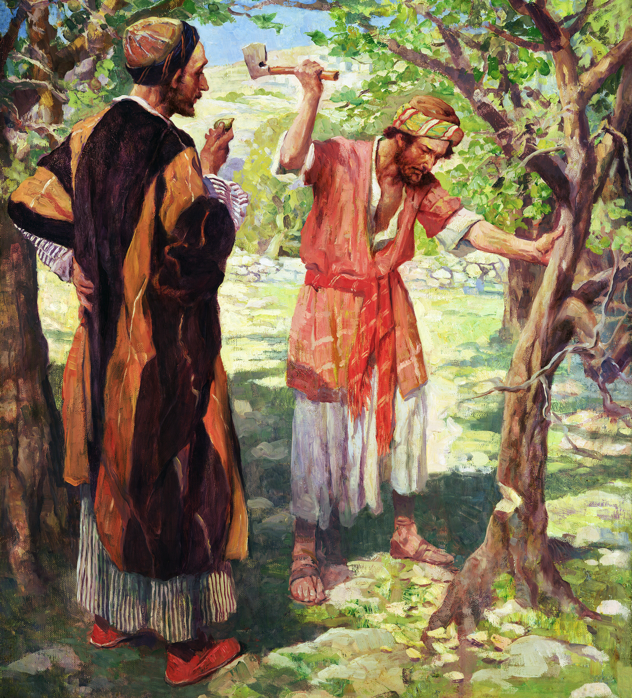 lessons from the parables the fig tree a lesson in the patience