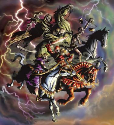Visions of Judgment: The Horsemen of Revelation