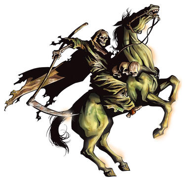 The Horsemen of Revelation: The Pale Horse of Pestilence