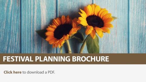 2021 Festival Planning Brochure