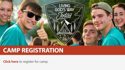Camp Registration 2019