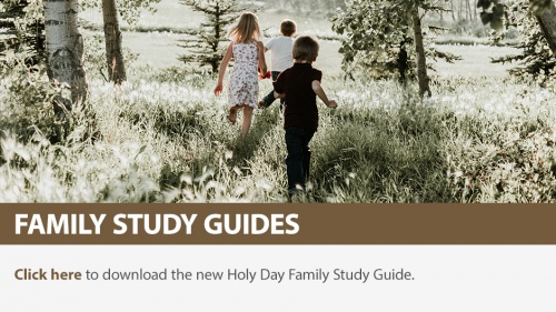 Holy Day Family Study Guide 2018
