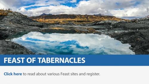 Feast of Tabernacles online registration
