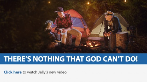 Jelly Learns There's Nothing That God Can't Do