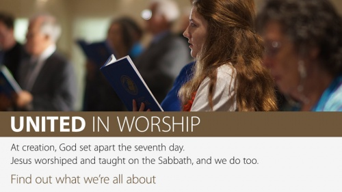 United in Worship banner