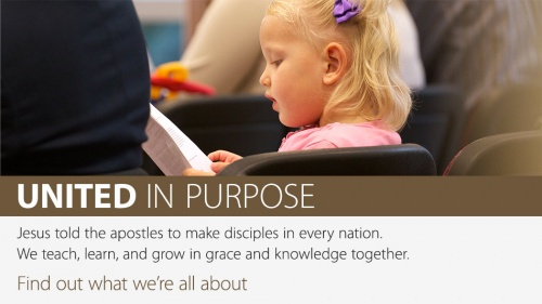 United in Purpose Banner