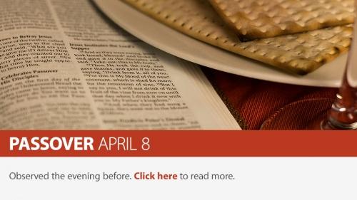 2020 Passover