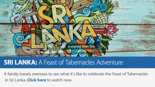 Sri Lanka: A Feast of Tabernacles Adventure short film banner