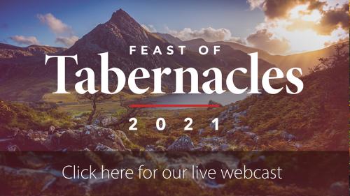 Feast of Tabernacles 2021 Webcast