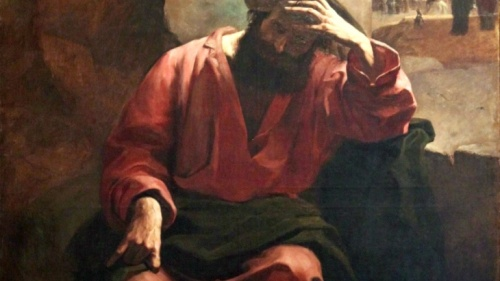 An artist's portrayal of Judas Iscariot.