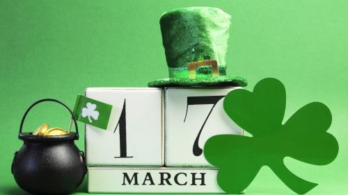 Icons of Saint Patricks Day