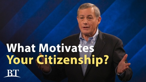 Beyond Today -- What Motivates Your Citizenship?