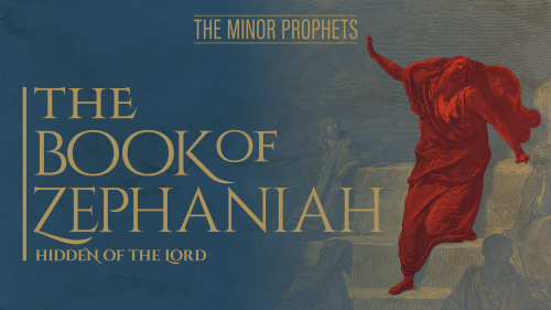 This is a graphic of the Zephaniah: Bible Study title.