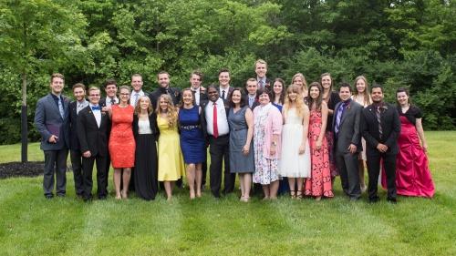Ambassador Bible College 2017 graduates.