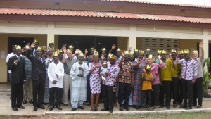 Group photo of the Accra, Ghana Feast of Tabernacles site.