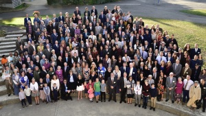 Group photo at the Feast in Evian-les-Bains, France.