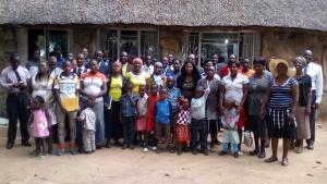 Feast in Lake Chivero, Zimbabwe.