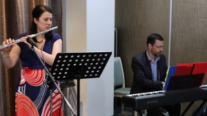 Special music in Merimbula, Australia.