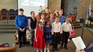Children's choir in Phoenix, Arizona.