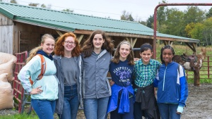 Teens at the Feast in Snowshoe, West Virginia.