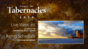 2020 Feast of Tabernacles Webcast Information