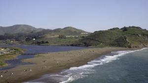 A photo of the Bay Area's Kronkite Beach.