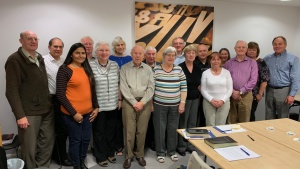 Elders and their wives from the United Kingdom.