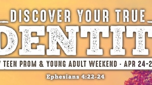 DFW Prom and Young Adults Weekend will be held April 24-26.