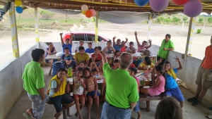 Campers and staff at the first United Youth Camp held in Brazil.