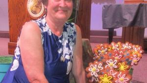 Karen Lewis of the Garden Grove, California, congregation.