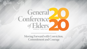 General Conference of Elders poster 2020