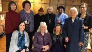 Greensborro, North Carolina Ladies Club group photo.