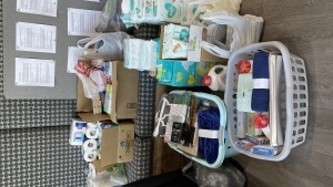 Donations collected for Christ's Home charity organization in Pennsylvania.