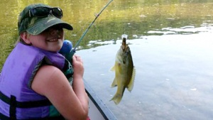 A member of the Little Rock, Arkansas, congregation enjoying some fishing!