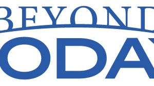 This is a graphic of the Beyond Today TV logo.