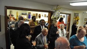 Some of the attendees at the New Orleans golden Anniversary celebration.