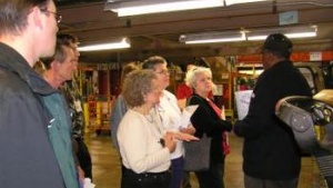 News At A Glance: Staff Members Tour Bulk Mail Center