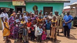 The Yeji, Ghana, congregation.