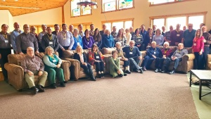 Attendees of the Ministerial Conference in Stewartville, Minnesota.