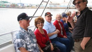 Southern California Members Enjoy Cruise, Tour of Los Angeles and Long Beach Ports