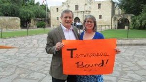 Gary and Kim Petty are Tennessee bound after 18 years in Texas.