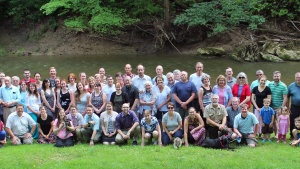 Last year's group at the Troyer's Hollow weekend.