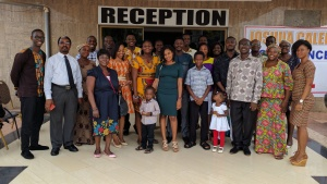 Congregation in Accra, Ghana.