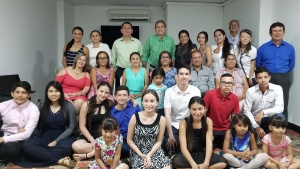 Congregation in Cúcuta, Colombia.