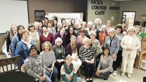 Women at the Southwest Missouri women's enrichment weekend.