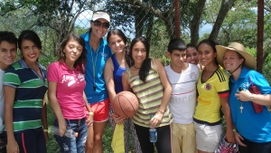Campers in Colombia.